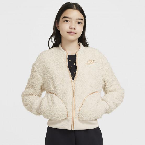Nike Sportswear Full-Zip Shepra Kids Girls' Jacket