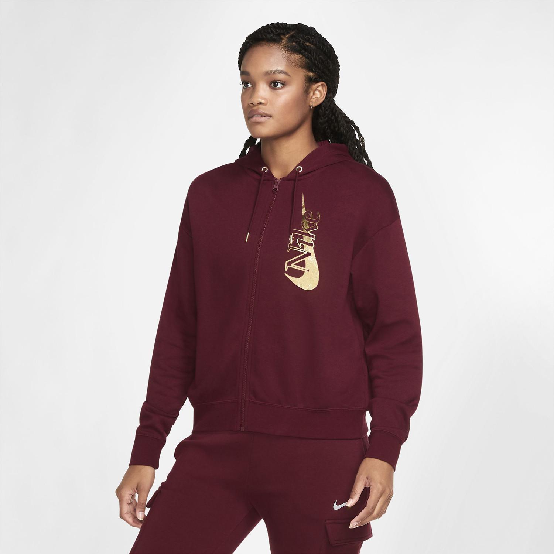 Nike Sportswear Γυναικεία Ζακέτα με Φερμουάρ σε Όλο το Μήκος (9000056475_46853)