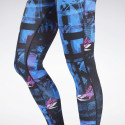 Reebok Sport Workout Ready MYT Printed Tights Women's Leggings