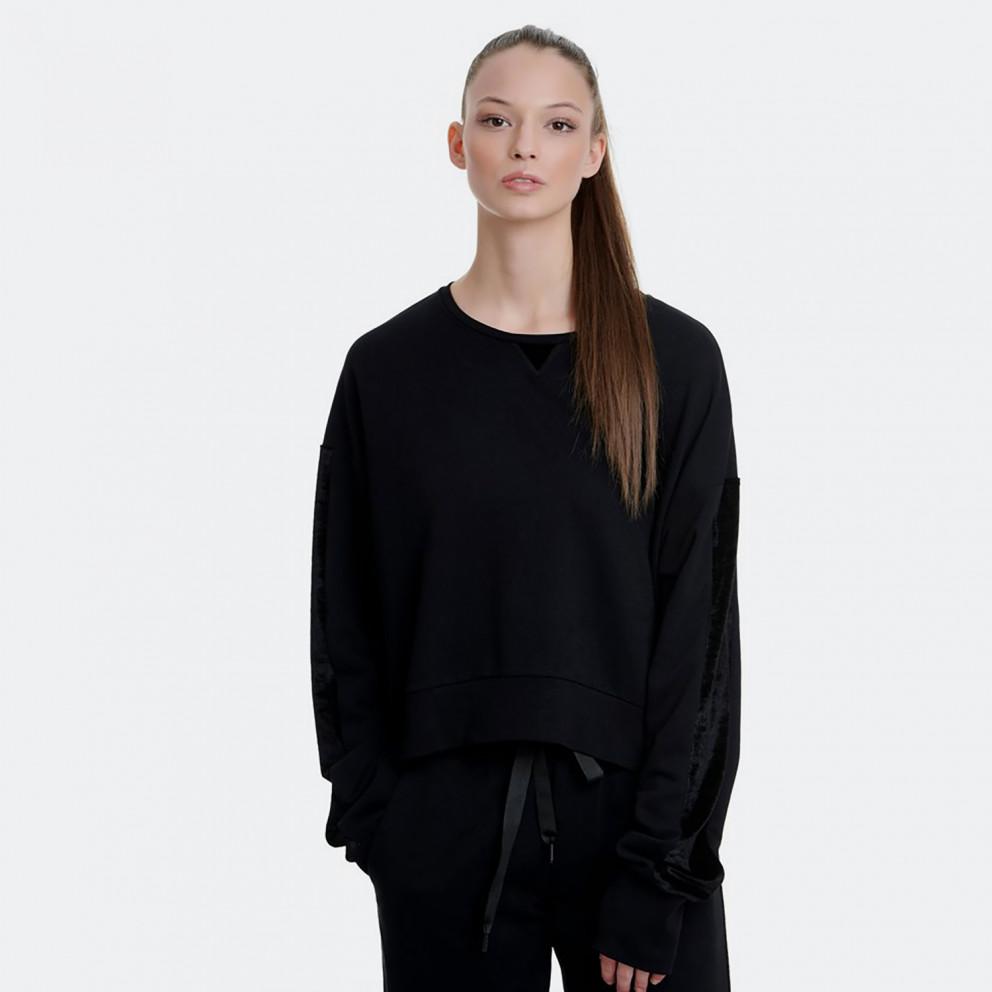 BodyTalk Real Pleasure Women's Cropped Sweatshirt