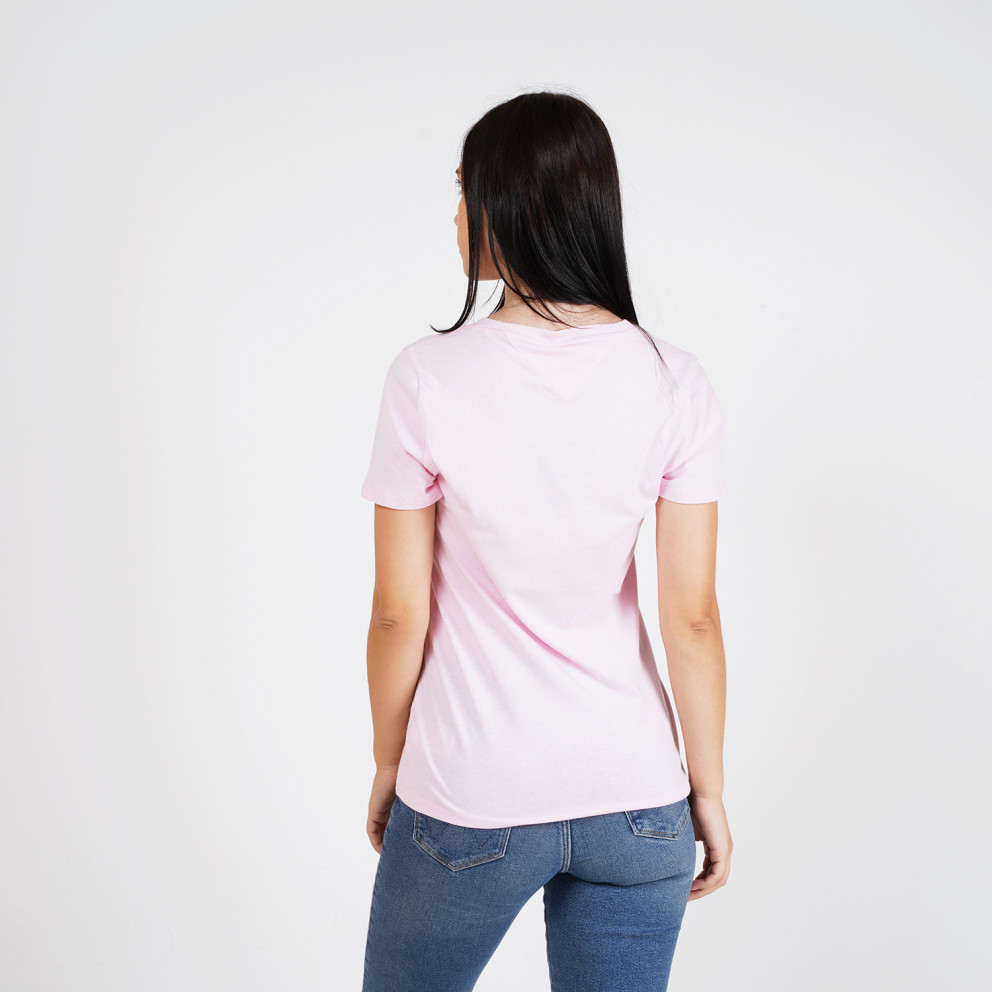 Tommy Jeans Outline Flag Women's T-Shirt