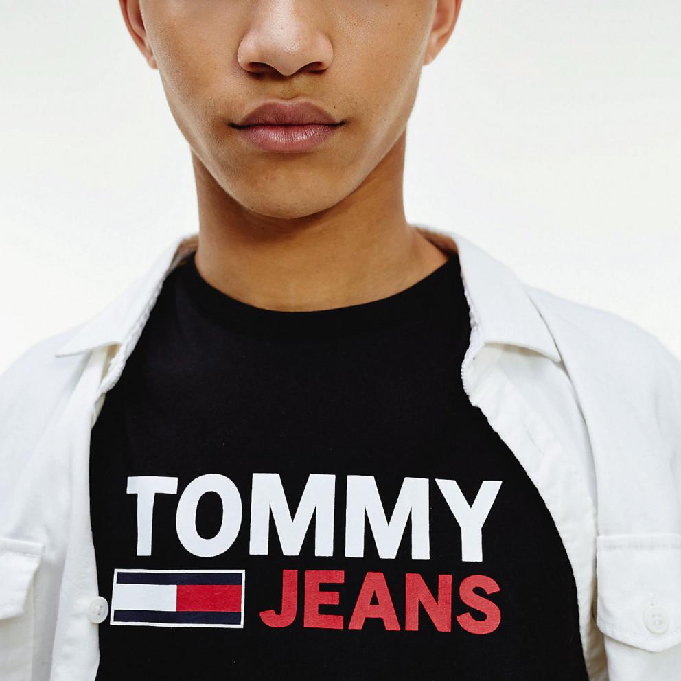 Tommy Jeans Logo Longsleeve Men's Shirt