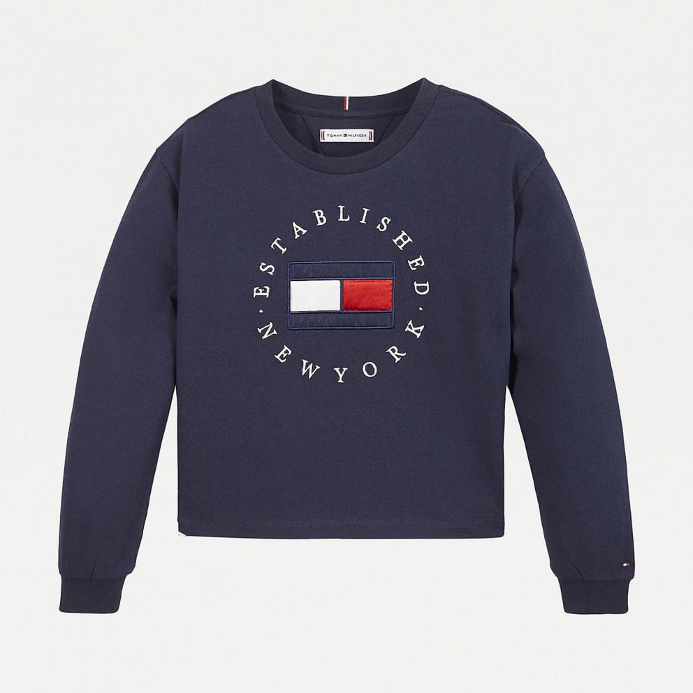 Tommy Jeans Heritage Kids' Long Sleeve Tee
