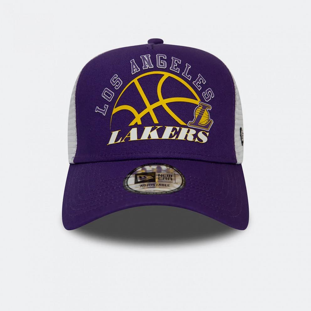 NEW ERA NBA Los Angeles Lakers Graphic Men's Trucker Cap