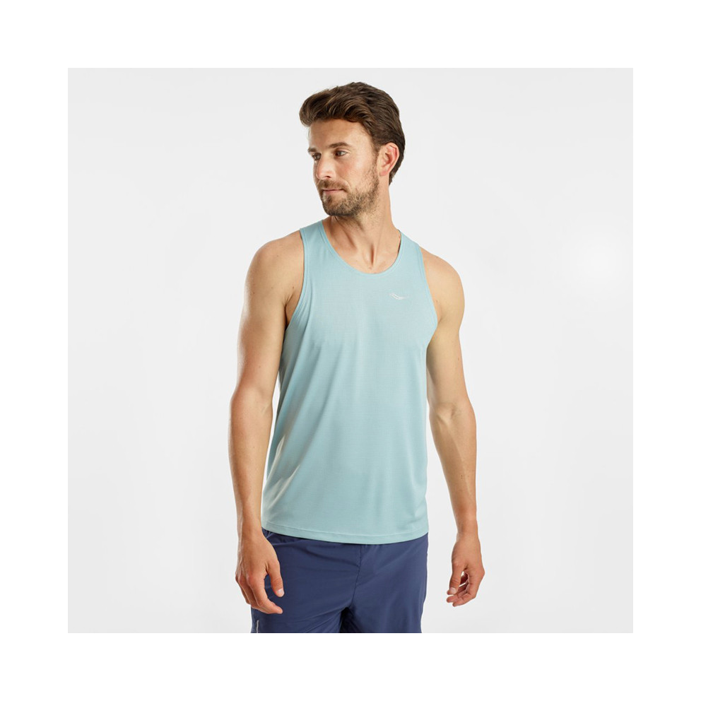Saucony Stopwatch Men's Sleeveless Shirt