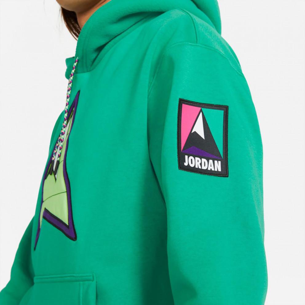 Jordan Mountainside Ανδρική Μπλούζα με Κουκούλα
