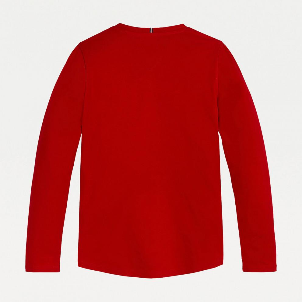 Tommy Jeans Script Kid's Long Sleeve Shirt