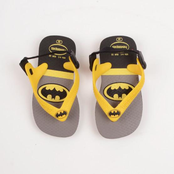 Havaianas Baby Heroes Batman Βρεφικές Σαγιονάρες