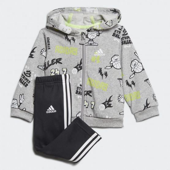 adidas Graphic Track Suit Toddlers' Set