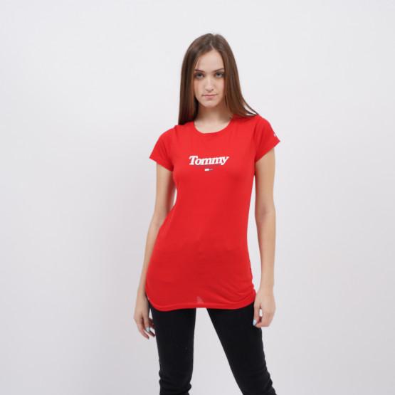 Tommy Jeans Essential Logo Γυναικείο T-Shirt