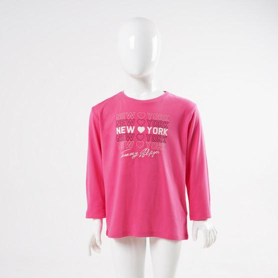Tommy Hilfiger Essential Kid's Long-Sleeve Shirt