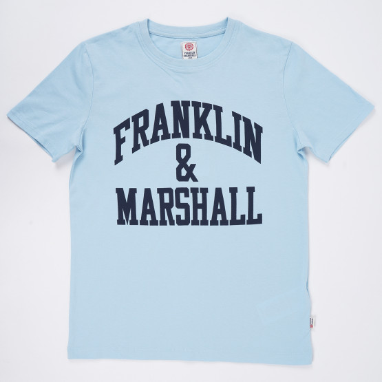 Franklin & Marshall Big Logo Kid's T-Shirt