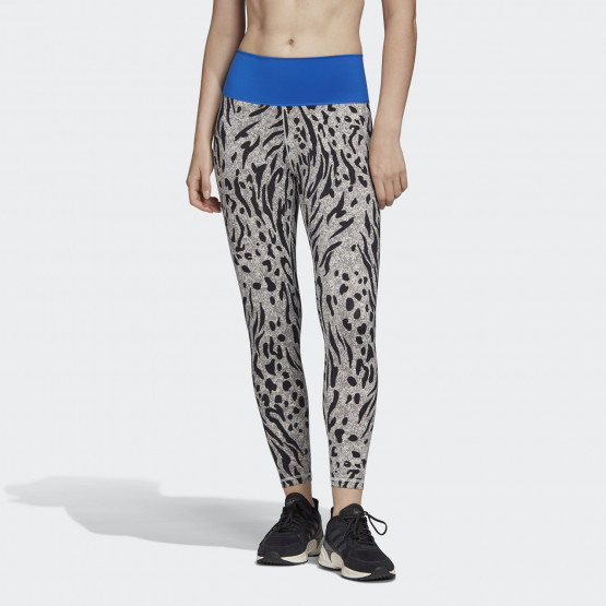 adidas Believe This 2.0 Iterations High-Rise 7/8 Tights Γυναικείο Κολάν