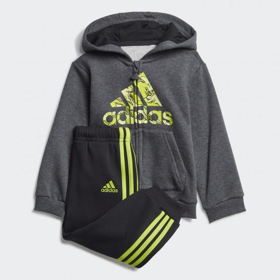 adidas Fleece Hooded Jogger Set for Babies