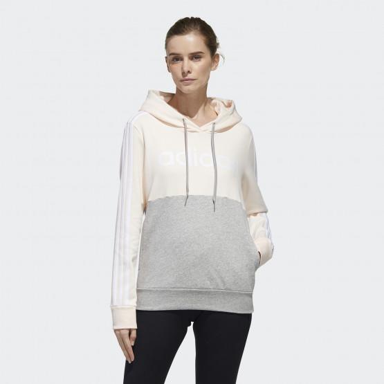 adidas Essentials Colorblock Fleece Hoodie Women's Pullover Hoodie