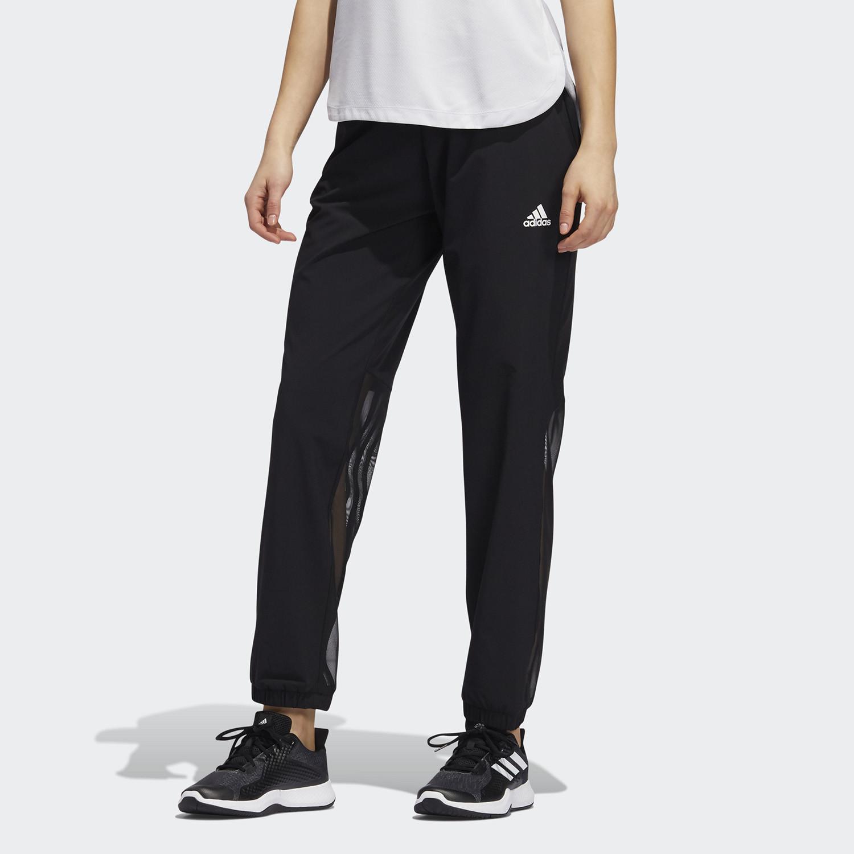 Adidas Μακρύ Υφασμένο Γυναικείο Παντελόνι 3-Stripes για Προπόνηση (9000067397_1480)