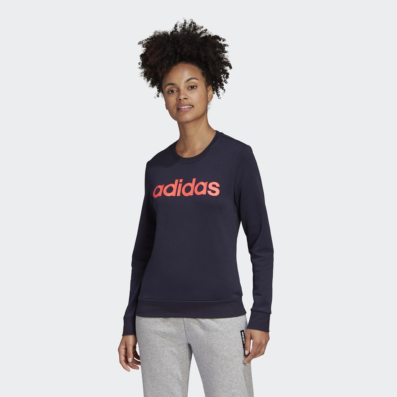 adidas Essentials Linear Γυναικείο Φούτερ (9000067598_47260)