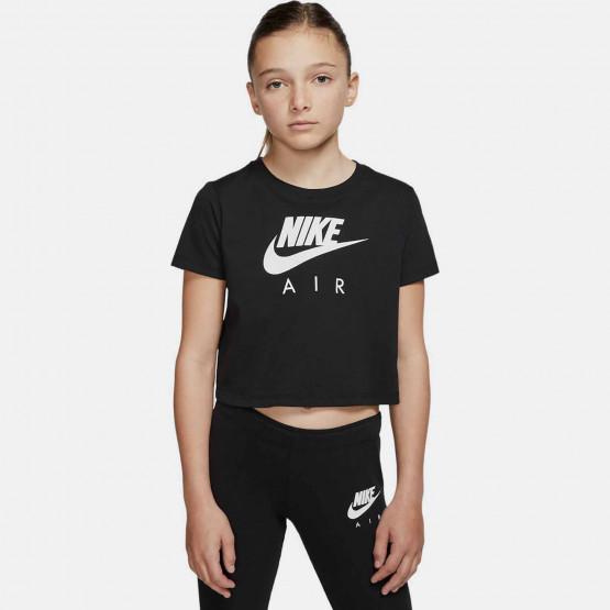 Nike Air Kids' Crop Top T-Shirt