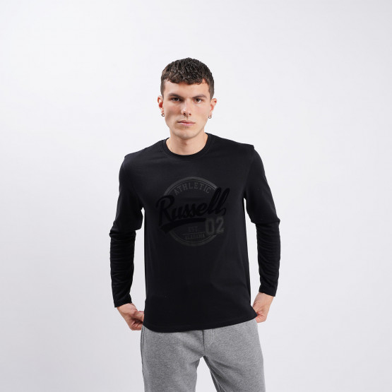 Russell Logo Men's Long-Sleeve Shirt