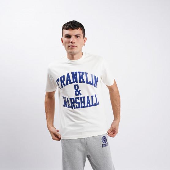 Franklin & Marshall Big Logo Aνδρικό T-Shirt