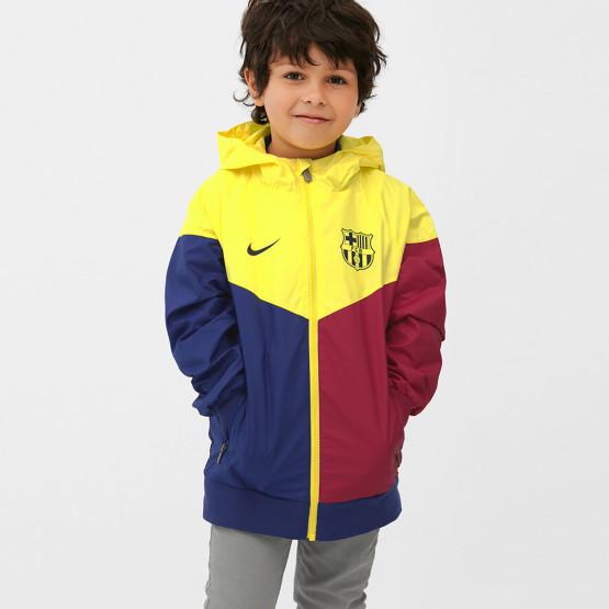 Nike FC Barcelona Kid's Windrunner