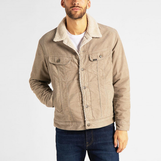 Lee Sherpa Men's Denim Jacket