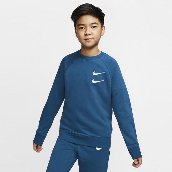 Nike Sportswear Swoosh Παιδικό Φούτερ