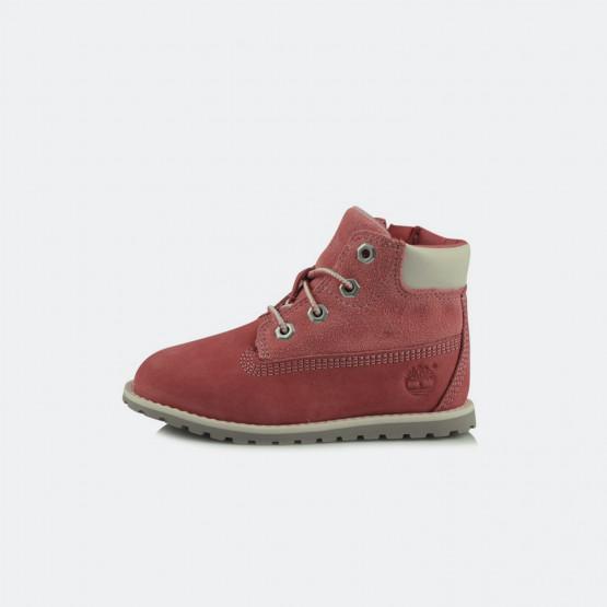 Timberland Pokey Pine 6In Boot Pink