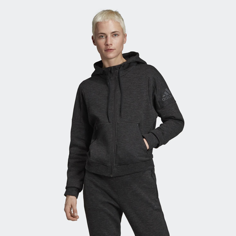 adidas Performance Id Melange Hoodie - Γυναικεία Ζακέτα (9000033543_37156)