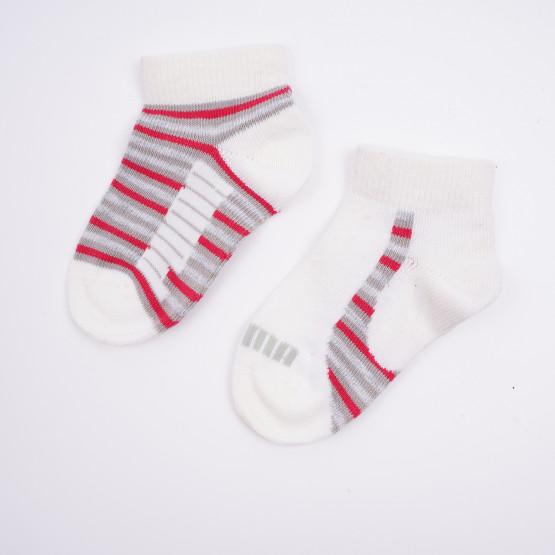 Puma Mini Stripe Sneaker Βρεφικές Κάλτσες