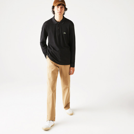 Lacoste Classic Fit Ανδρική Polo Μπλούζα με Μακρύ Μανίκι