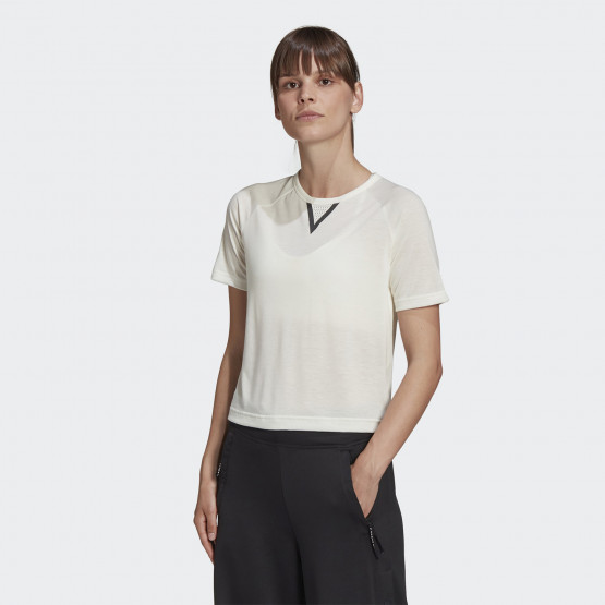 adidas Performance Karlie Kloss Crop Tee Γυναικείο T-Shirt