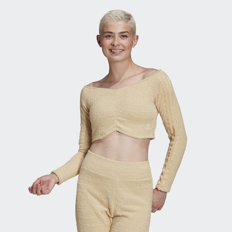 adidas Originals Crop Τοp Γυναικεία Mακρυμάνικη Μπλούζα (9000071397_51077)