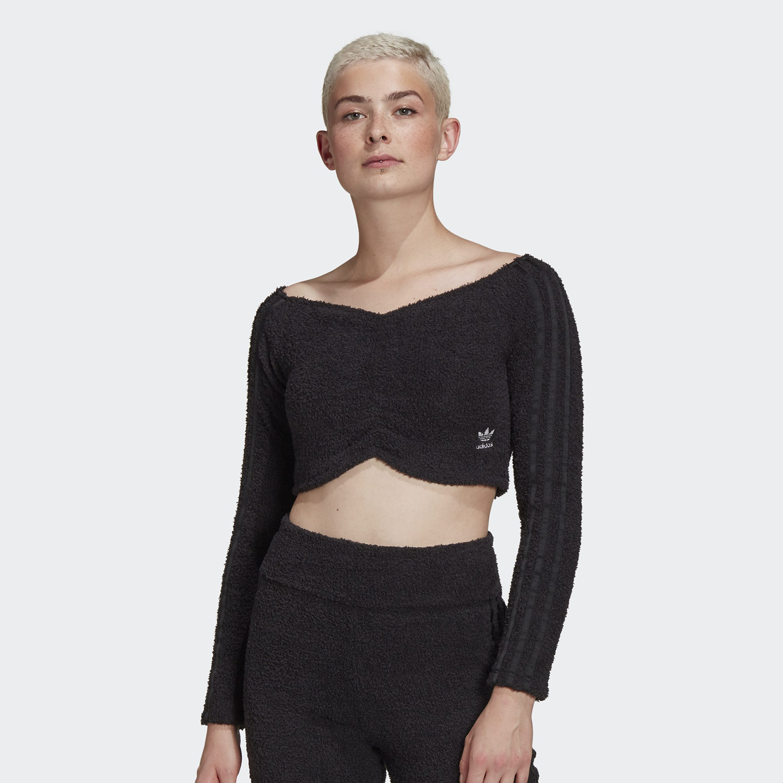 adidas Originals Crop Τοp Γυναικεία Mακρυμάνικη Μπλούζα (9000071398_1469)