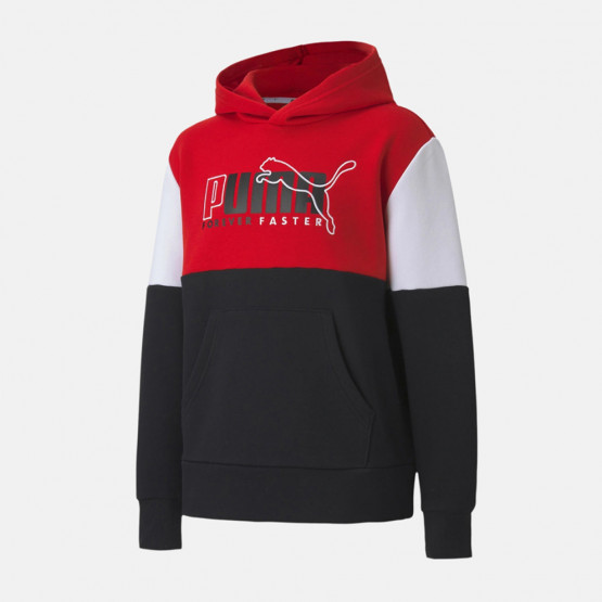 Puma Alpha Color Block Kid's Hoodie