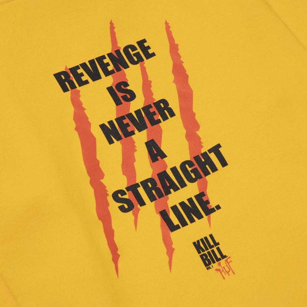 HUF x Kill Bill Revenge Ανδρικό Φούτερ με Κουκούλα