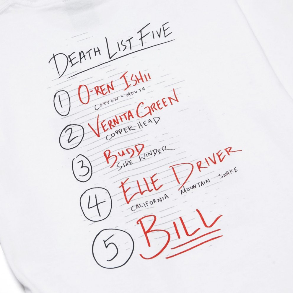 Huf x Kill Bill Death List Ανδρικό T-shirt