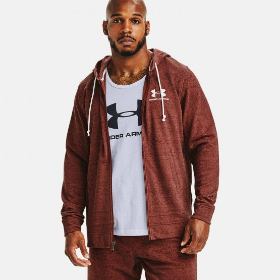 Under Armour Sportstyle Terry Full Zip Ανδρική Ζακέτα