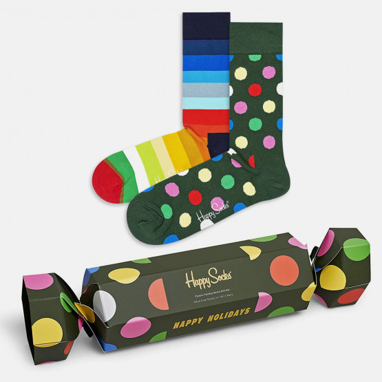 Happy Socks 2-Pack Classic Holiday Gift Set Κάλτσες