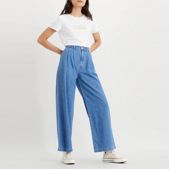 Levi's Pleated Wide Leg Trouser Γυναικείο Παντελόνι