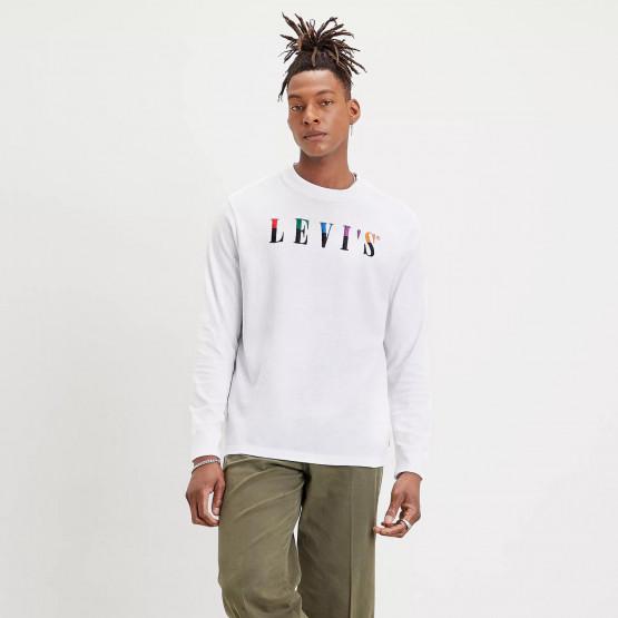 Levi's Graphic Mockneck Tee Ανδρική Μακρυμάνικη Μπλούζα
