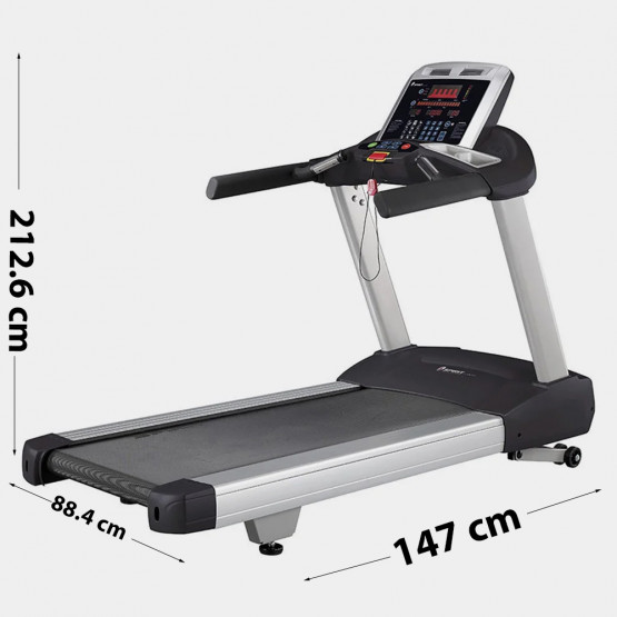Spirit Treadmill Ct850 4Hp, 212.6 X 88.4 X 147 Cm