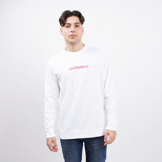Levi's Oversized Logo Men's Long Sleeve Tee