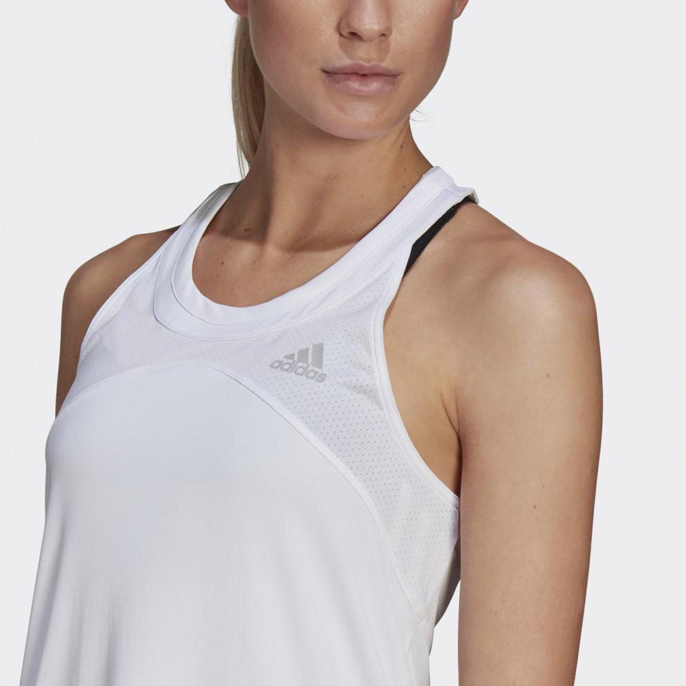adidas Performance Club Tennis Γυναικεία Αμάνικη Μπλούζα