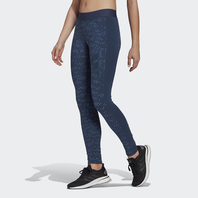 adidas Performance Sportswear Allover Print Γυναικείο Κολάν (9000068966_49788)