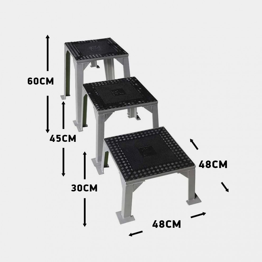 Amila Set Of 3 Boxes For Power Fit