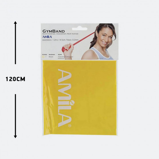 Amila Gym Band Ultra Light 120 Cm X 0,02 Cm