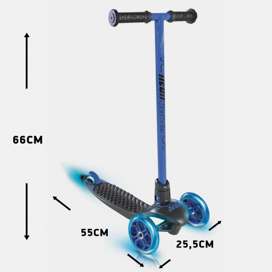 Athlopaidia Πατίνι Τρίτροχο Neon Glider Blue