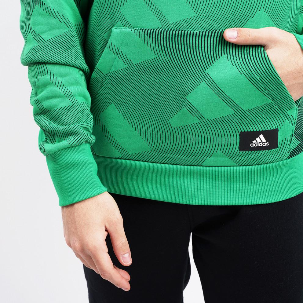 adidas Performance Allover Print Ανδρικό Φούτερ