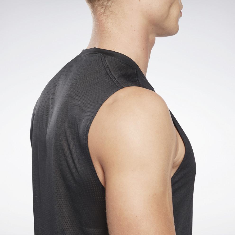 Reebok Sport Workout Ready Sleeveless Tech Ανδρική Αμάνική Μπλούζα